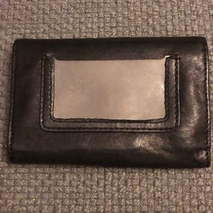 Lucky Brand Bags - Black leather midsize lucky brand wallet.